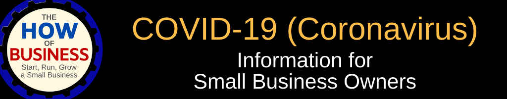 COVID-19 Information for Small Business Owners