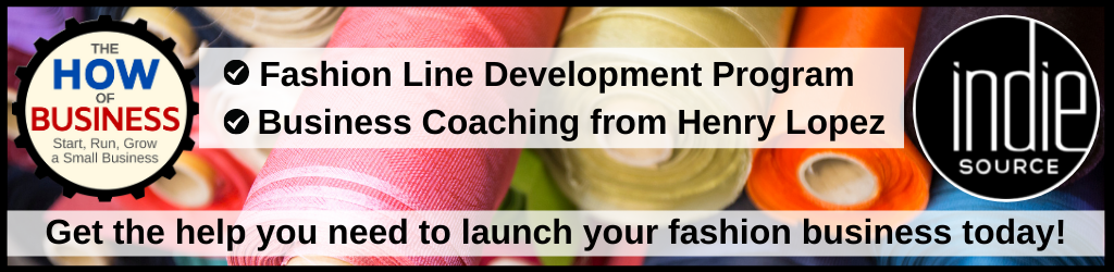 Indie Source Fashion Line Development Program