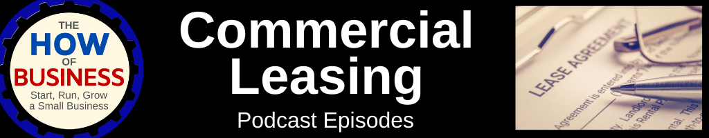 Commercial Leasing Podcast Episodes