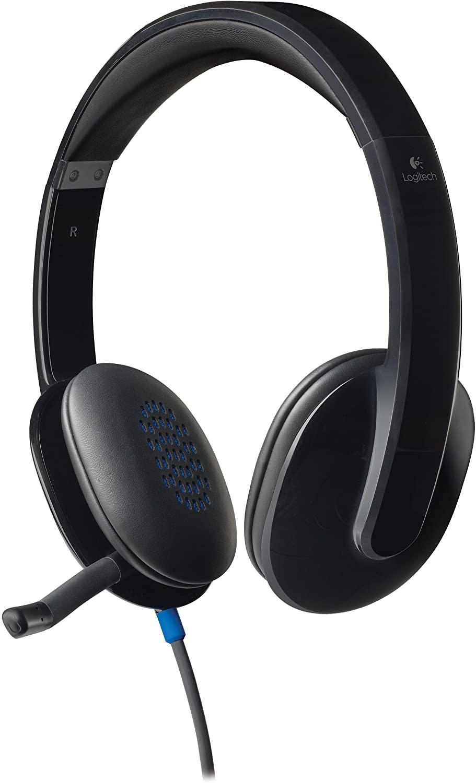 Logitech High-performance USB Headset H540 for Windows and Mac