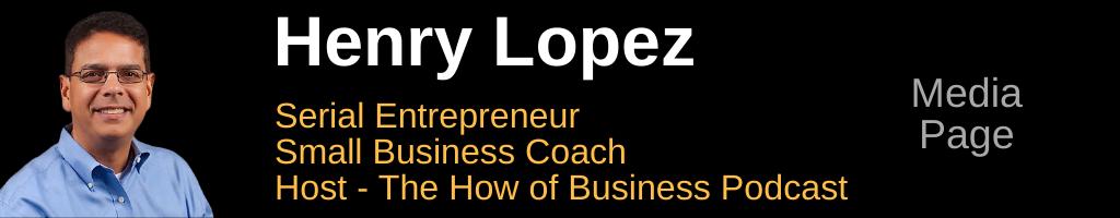 Henry Lopez - Media Page