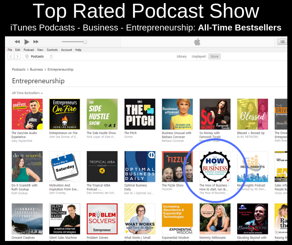 Top Ranked Show on iTunes